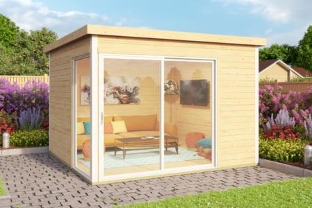 Садовые домики Modern - Aiamaja Domeo 1