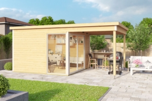 Садовые домики Modern - Aiamaja Domeo 2