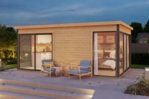 Садовые домики Modern - Aiamaja Domeo 3