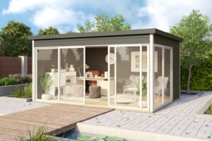 Садовые домики Modern - Aiamaja Domeo 4