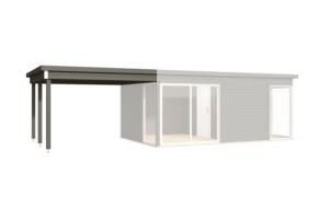 Garden houses Modern - Varjualune Domeo 3,4-le